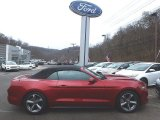 2016 Ruby Red Metallic Ford Mustang V6 Convertible #118900148