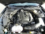2017 Ford Mustang EcoBoost Premium Convertible 2.3 Liter DI Turbocharged DOHC 16-Valve GTDI 4 Cylinder Engine