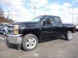 2017 Black Chevrolet Silverado 2500HD Work Truck Double Cab 4x4 #118900136