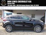 2017 Black Cherry Kia Sportage EX AWD #118900072