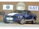 Sonic Blue Metallic Ford Mustang in 2005