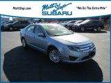 2010 Light Ice Blue Metallic Ford Fusion Hybrid #118900185