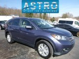 2012 Twilight Blue Metallic Honda CR-V EX-L 4WD #118900347