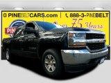 2016 Black Chevrolet Silverado 1500 LT Crew Cab 4x4 #118899982