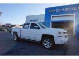 2017 Summit White Chevrolet Silverado 1500 LTZ Crew Cab 4x4 #118900168