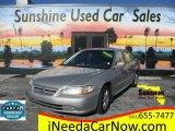 2002 Satin Silver Metallic Honda Accord EX Sedan #118899919