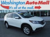 2014 White Diamond Pearl Honda CR-V EX AWD #118900092