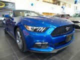 2017 Lightning Blue Ford Mustang V6 Convertible #118900273