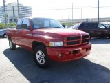 2001 Dodge Ram 1500 Flame Red