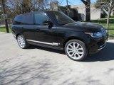 2017 Santorini Black Metallic Land Rover Range Rover Supercharged #118943435