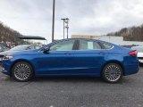 2017 Lightning Blue Ford Fusion SE #118949724