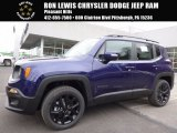 2017 Jetset Blue Jeep Renegade Latitude 4x4 #118949749