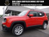 2017 Colorado Red Jeep Renegade Latitude 4x4 #118949747