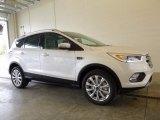 2017 White Platinum Ford Escape Titanium 4WD #118949640