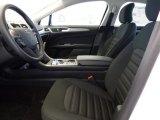 2017 Ford Fusion Hybrid SE Ebony Interior