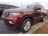 2017 Velvet Red Pearl Jeep Grand Cherokee Laredo #118949673