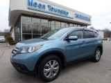 2014 Mountain Air Metallic Honda CR-V EX AWD #118949732