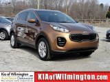 2017 Burnished Copper Kia Sportage LX AWD #118963981