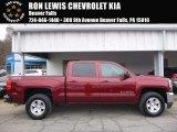 2017 Siren Red Tintcoat Chevrolet Silverado 1500 LT Crew Cab 4x4 #118964071