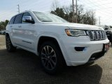 2017 Bright White Jeep Grand Cherokee Overland 4x4 #118964015