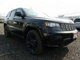 2017 Diamond Black Crystal Pearl Jeep Grand Cherokee Laredo 4x4 #118964014