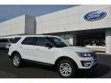 2017 Oxford White Ford Explorer XLT #118964098