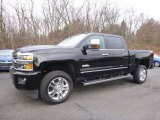 2017 Black Chevrolet Silverado 2500HD High Country Crew Cab 4x4 #118989280