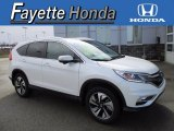 2016 White Diamond Pearl Honda CR-V Touring AWD #118989697