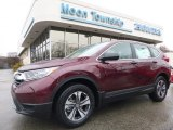 2017 Basque Red Pearl II Honda CR-V LX AWD #118989582
