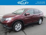 2014 Basque Red Pearl II Honda CR-V EX AWD #119022615