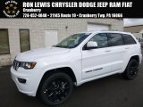 2017 Bright White Jeep Grand Cherokee Laredo 4x4 #119022719