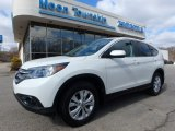 2014 White Diamond Pearl Honda CR-V EX AWD #119022827