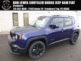 2017 Jetset Blue Jeep Renegade Altitude #119022717