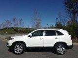2011 Snow White Pearl Kia Sorento LX V6 AWD #119022604