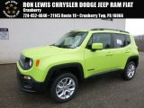 2017 Hypergreen Jeep Renegade Latitude 4x4 #119022712