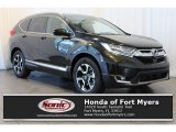 2017 Dark Olive Metallic Honda CR-V Touring #119022662