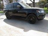2017 Santorini Black Metallic Land Rover Range Rover HSE #119050964