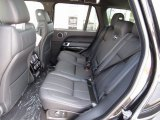 2017 Land Rover Range Rover HSE Rear Seat