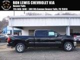 2017 Black Chevrolet Silverado 1500 LT Crew Cab 4x4 #119050789