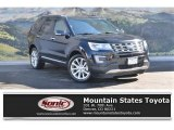 2017 Shadow Black Ford Explorer Limited 4WD #119050737