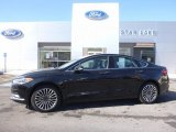 2017 Shadow Black Ford Fusion SE AWD #119072581