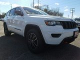 2017 Bright White Jeep Grand Cherokee Trailhawk 4x4 #119072416