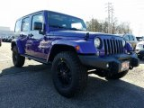 2017 Extreme Purple Jeep Wrangler Unlimited 75th Anniversary Edition 4x4 #119072415