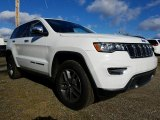 2017 Bright White Jeep Grand Cherokee Limited 4x4 #119072414