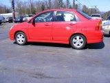 2003 Suzuki Aerio Racy Red