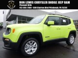 2017 Hypergreen Jeep Renegade Latitude 4x4 #119090668