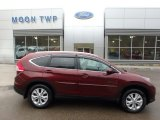 2012 Basque Red Pearl II Honda CR-V EX-L 4WD #119090637