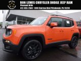 2017 Omaha Orange Jeep Renegade Latitude 4x4 #119090666