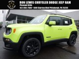 2017 Hypergreen Jeep Renegade Latitude 4x4 #119090665