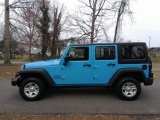 2017 Chief Blue Jeep Wrangler Unlimited Sport 4x4 #119090474